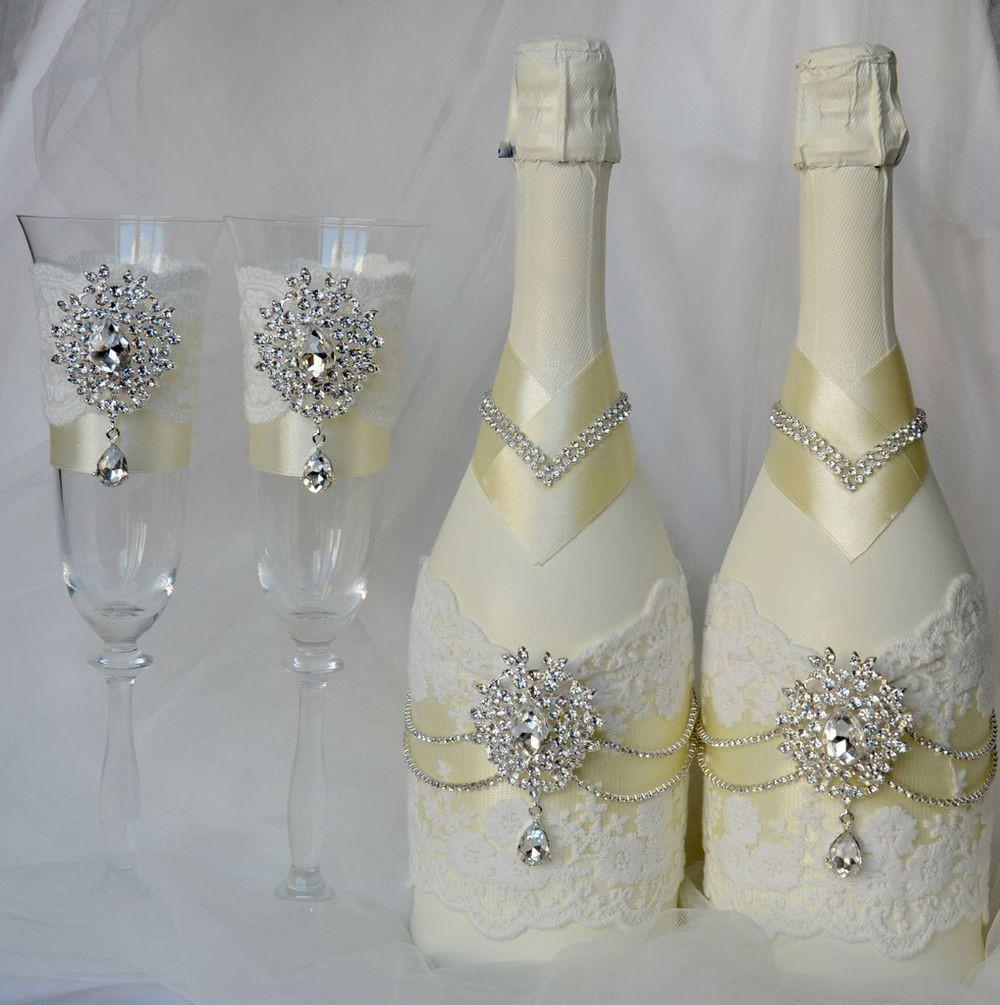 Бутылки на свадьбу традиция